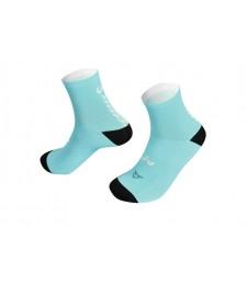 CustomSocks-Turquoise-Front